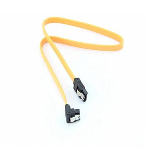 Y56 45CM SATA 3.0 III SATA3 6 GB/s SSD Festplatte Daten direkt/rechtwinklig Kabel 90 Grad