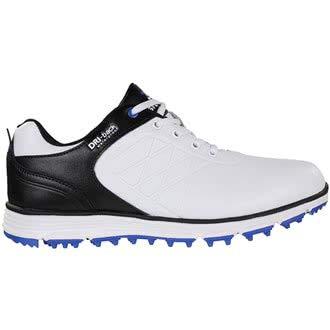 Stuburt SBSHU1109 - Scarpe da Golf da Uomo Evolve Tour Dri-Back, Impermeabili, Senza Bordi, Misura 43, Colore Nero