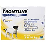 Frontline for Small Dogs (2-10kg) 6 pack