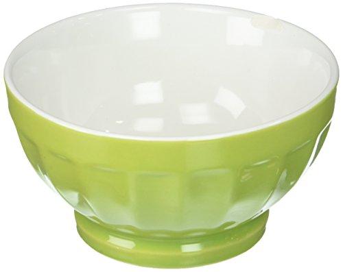Bia Cordon Bleu Inc Bia Cordon Bleu Inc 400107+992 16 Oz Chartreuse Two-Tone Fluted Bowl, Sun Fluted Bowl