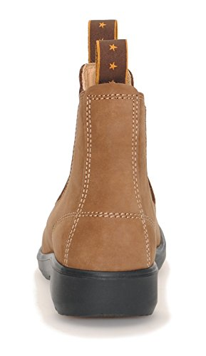 MOONAH Ladies' Town & Country Chelsea Boots Light | Loam Lehmbraun (Loam)