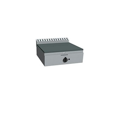 Plaque Fry-Top cuocipiadina à gaz à meuler kW 6,0 – Dim. CM 43 x 70 x 29H