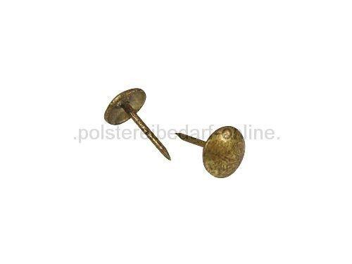 Polsternägel altgold gefleckt 90 1/3 250 Stück 9mm