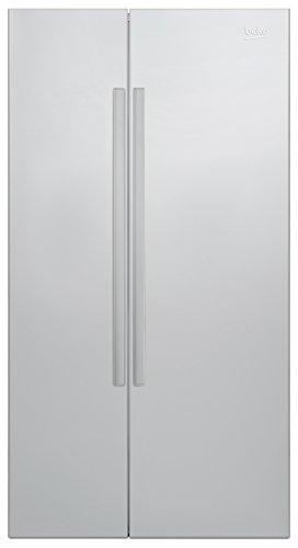 Beko GN 163040 X Side-by-Side / A+++ / 182 cm Höhe / 368 Liter Kühlteil / 190 Liter Gefrierteil / Edelstahl Fingerprint Free Oberfläche / NoFrost / Prosmart Inverter Kompressor / LED Innenbeleuchtung / Active Dual Cooling System / Active Ionizer /  Antibakterieller Filter /  Antibakterielle Türdichtungen / Automatische Abtauung /  Umluftkühlung