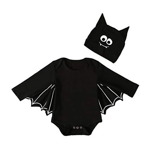 Zolimx Halloween Kostüm Kürbis Babykleidung,Kleinkind Kinder Baby Mädchen Halloween Spinne Cosplay Tutu Kleid Party Kleidung