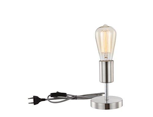 "Globo T11""Noel-Tabelle Lampe, Glas/plastic-p Retro silber"