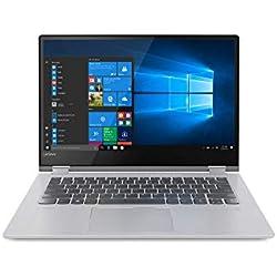 "Lenovo Yoga 530-14ARR - Portátil táctil Convertible 14"" FullHD (Intel Core i7-8550U, 8GB RAM, 512GB SSD, Intel UHD Graphics, Windows 10) Gris - Teclado QWERTY Español"