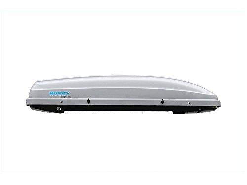 Preisvergleich Produktbild Kamei Dachbox Husky L Silber - matt (08133205)