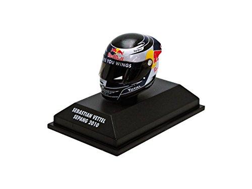 Minichamps - 381100405 - Arai Vettel - Sepang 2010 - Escala 1/8