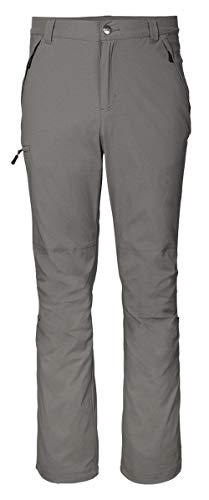 Crivit Herren Trekkinghose Wanderhose Outdoorhose Freizeithose Berghose (56, grau)