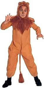 CODARDO Lion WIZARD OF OZ Fancy Dress Costume per ragazzi