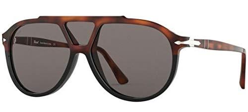 Ray-Ban Herren 0PO3217S Sonnenbrille, Schwarz (Brown Black Tortoise), 59