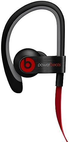 Beats by Dr. Dre Powerbeats 2 In-Ear Kopfhörer schwarz (Zertifiziert und Generalüberholt)