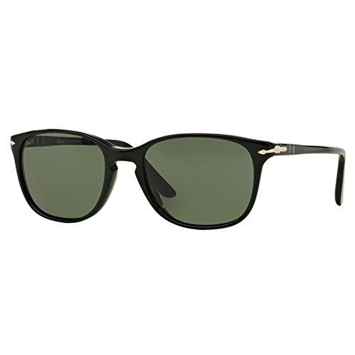 Persol Unisex 0PO3133S Sonnenbrille, Schwarz (Black 901431), One size (Herstellergröße: 52)
