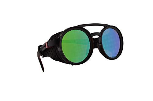 Carrera 5046/S Sonnenbrille Matt Brau Mit Grünen Verspiegelten Gläsern 49mm 4INZ9 CA5046/S 5046S