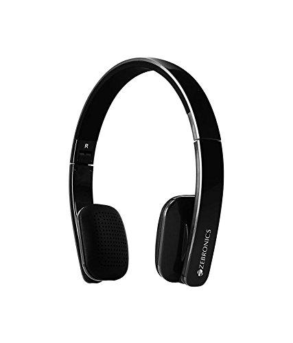 6c556fd3ad0 Buy Zebronics ZEB-Happy Wireless Bluetooth Headphone (Black) Online ...