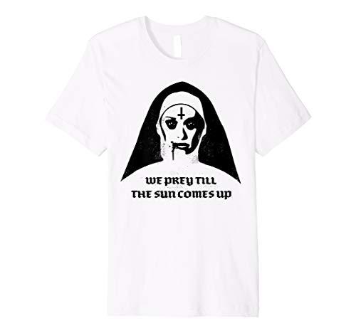 Goth Punk Death Metal satanischen Horror Vampir Nonne Shirt