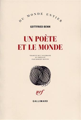 Un poète et le monde