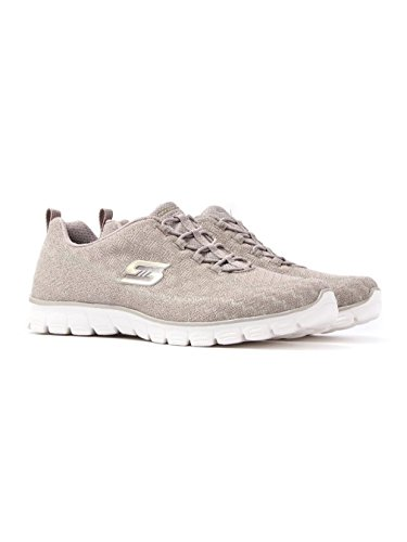 Skechers EZ Flex 3.0 Estrella Women's Trainers fitness Air Cooled Slip on Taupe
