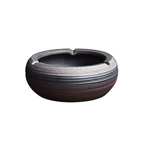 YQDSB Cenicero de cerámica