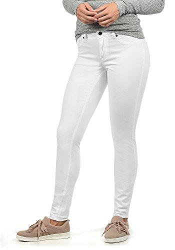 Jacqueline de yong lara - jeans attillati da donna, colore:white, taglia:xs/ l30