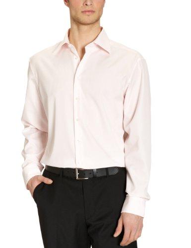 Jacques Britt- Chemise business - Col chemise classique - Manches longues - Homme Rose (40 - pink)