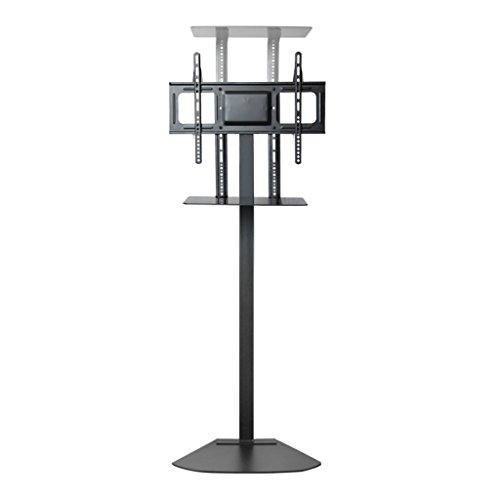 SUBBYE LED-TV-Halterung Mit Set-Top-Box Halterung Stand-Display-Ständer Universal Unsichtbare Kabelhalterung Für 32-70 Zoll TV-Halterung Stil Optional ( Farbe : Style 2 )