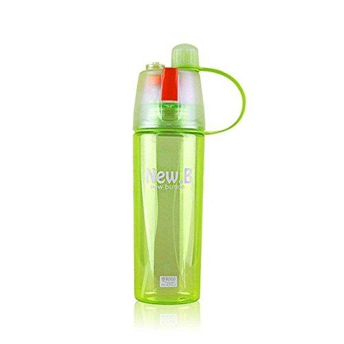 Valgens bicchieri di plastica 600ml sport all' aria aperta spray bottiglia d' acqua estate studenti (Bottiglia Bank)