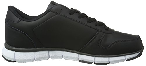 KangaROOS Unisex-Erwachsene K-Bluerun 700 B Low-Top Schwarz (Black/Dk Grey 522)