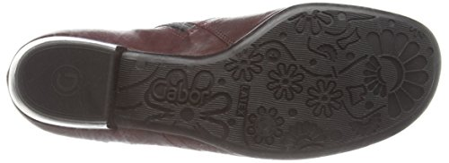 Gabor Bea, Bottes Classiques Femme Rouge (dark Red Leather)