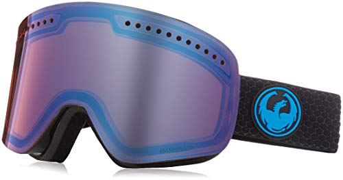 Dragon NFX Skibrille inkl. Wechselscheibe, Farbe:split/lumalens blue ion + lumalens amber