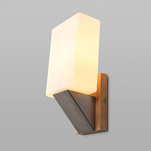 KYDJ Lampe de chevet minimaliste moderne chaleureux Chambre créative Wall Lamp Lampe Couloir escalier balcon personnalité créatrice Wall Lamp Lampe Murale Chambre Balcon escalier couloir couloir personnalité créatrice Wall Lamp lampe E14 ( Couleur : chaude lumière LED 3W )