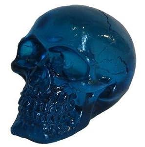 Katerina Prestige Figura Calavera Transparente Azul 7 cm