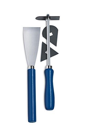 Steinel Farbschaber Set 5-teilig, Universalklingen, Farbspachtel und Klingenhalter, zum Farbe entfernen und Restaurieren