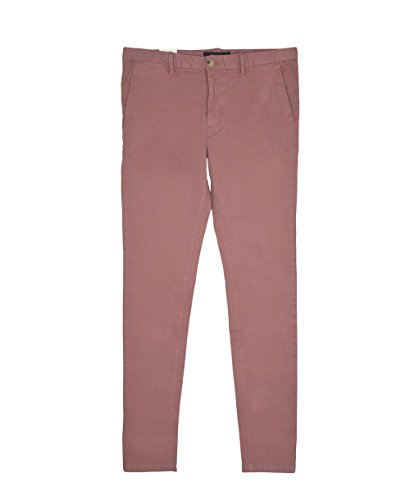 Scotch & Soda Herren Hosen Classic Garment Dyed Chino Pant in Stretch Cotton Quality Rosa (Old Pink 1941)