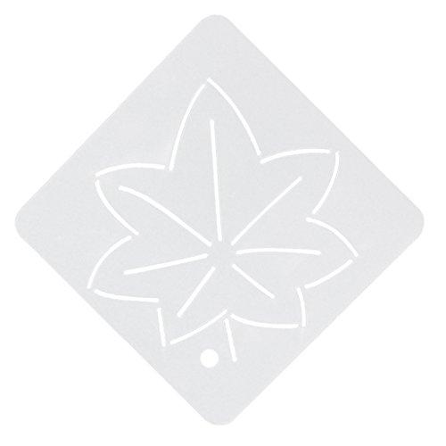 sharprepublic Semi Transparente Schablonen Vorlage Stickerei Acryl Quilt 005 - muster6, one Size (Acryl-quilt-vorlagen)