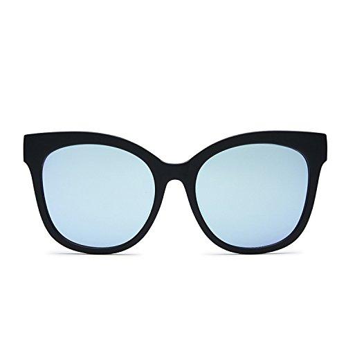 Quay Eyewear Damen Sonnenbrille IT'S MY Way, Black/Purple, 150
