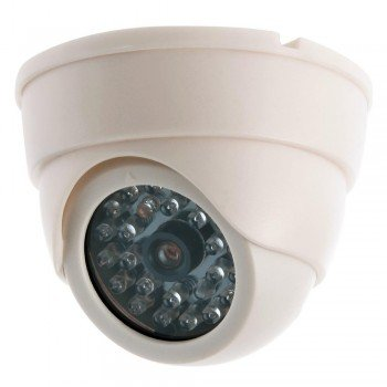 Dummy Fake Imitation Dome Home CCTV Security Surveillance Camera LED - Imitation Security Camera