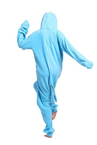 Magicmode Unisex Cosplay Costumi Animali Kigurumi Pigiama Adulti Onesie Anime Felpa Pigiameria Narwhal