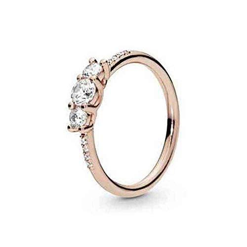 Pandora Damen-Ringe 925 Sterlingsilber zirkonia '- Ringgröße 58 186242CZ-58