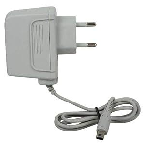 Link-e : graues ladegerät für die Nintendo DS Lite konsole (kabel, ladekabel, netzteil, stromkabel…)
