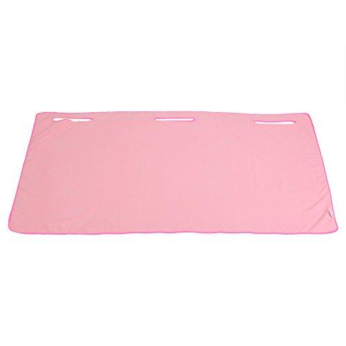 Aramox Badetuch, Mikrofaser Fluffy Luxus Bad Blatt Perfekt für Haus, Bad, Pool und Gym Tragbare Badetücher(Pink) (Luxus-bad-blatt)