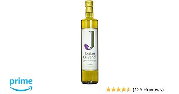 new styles fb7a5 d26cc Jordan Olivenöl Natives extra - 0.75 L Flasche, 1er Pack (1 x 750 ml)   Amazon.de  Lebensmittel   Getränke