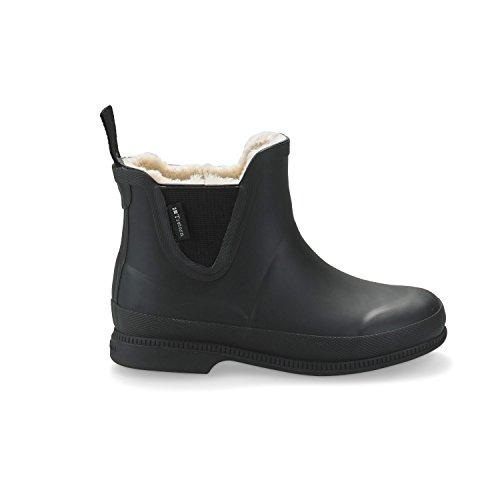 Tretorn Eva Classic Winter Kurzschaft Gummistiefel Wasserdicht Natürliches Gummi Damen, Schwarz - Größe: 36 - Tretorn Schuhe