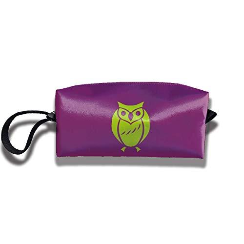 TRFashion Toiletry Bag Halloween Owl Witch SkirtStorage Bag Beauty Case Wallet Cosmetic Bags Aufbewahrungstasche Kosmetiktasche (Halloween-make-up Mädchen Witch)