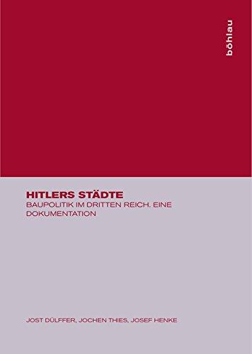 Dülffer, J: Hitlers Städte