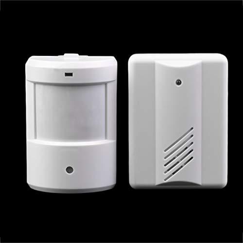 Kongqiabona Einfahrt Patrol Garage Infrarot Wireless Türklingel Alarm System Bewegungssensor (Einfahrt Wireless Alarm)
