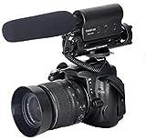 TAKSTAR SGC-598 Microfono videocamera intervista,Microfono Macchina Fotografica per Nikon, Canon, DV dslr Cameras