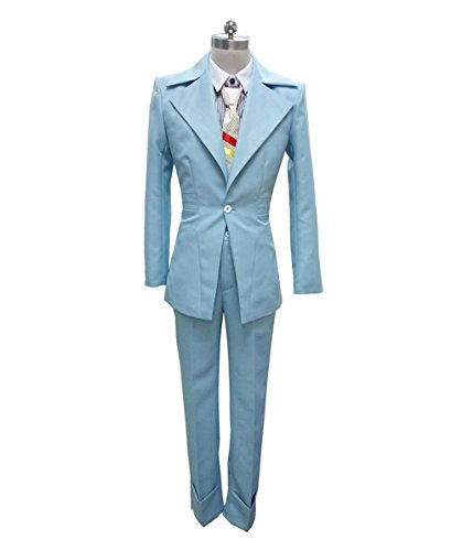 EXCLUSIVE! Men's Deluxe Costume Adult for Cosplay Singer David Bowie (S) (Kostüm Party Bowie)