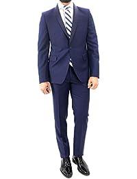 Brian Dales Abito da Uomo Elegante Modello Smoking in Tasmania vestibilità  Slim Fit Chiusura con Un 54f1e03f082